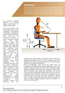 Ergonomics Word Template First Inner Page