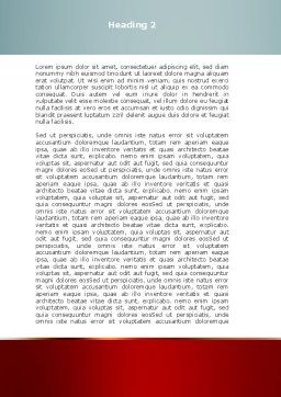 2012 Word Template, Second Inner Page, 08946, Holiday/Special Occasion — PoweredTemplate.com