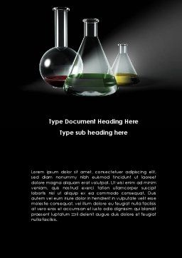 Retorts Word Template, Cover Page, 08979, Technology, Science & Computers — PoweredTemplate.com