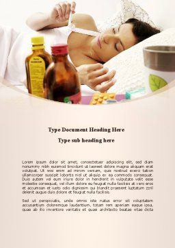 Healing Word Template, Cover Page, 08987, Medical — PoweredTemplate.com