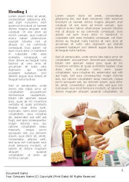 Healing Word Template, First Inner Page, 08987, Medical — PoweredTemplate.com