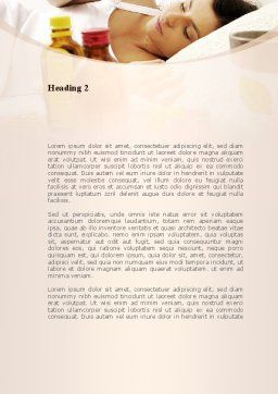 Healing Word Template, Second Inner Page, 08987, Medical — PoweredTemplate.com