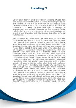 Encyclopedia Word Template Second Inner Page