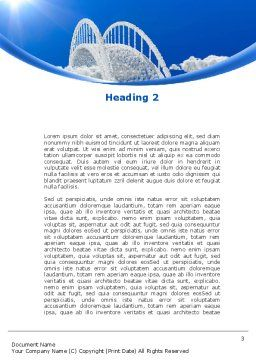 Dream Bridge Word Template Second Inner Page