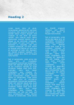 Red And Blue Pilule Word Template, Second Inner Page, 09066, Medical — PoweredTemplate.com