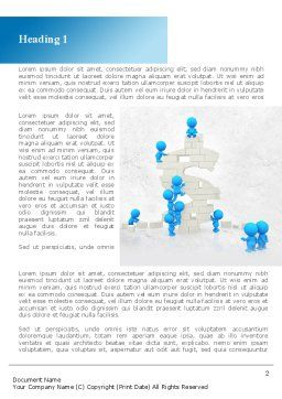 Consolidation of Dollar Word Template, First Inner Page, 09068, Business — PoweredTemplate.com