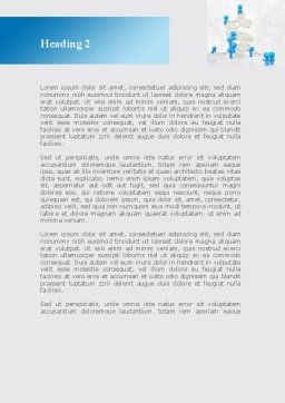 Consolidation of Dollar Word Template, Second Inner Page, 09068, Business — PoweredTemplate.com