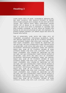 Approved Stamp Word Template, Second Inner Page, 09111, Business Concepts — PoweredTemplate.com