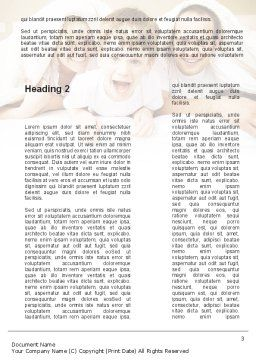 Modern Family Word Template, Second Inner Page, 09116, People — PoweredTemplate.com