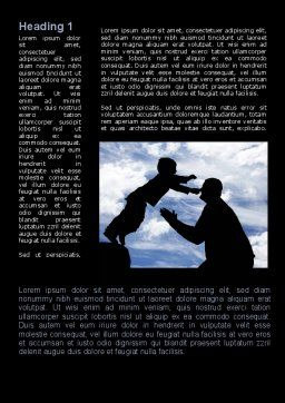 Father's Day Word Template First Inner Page