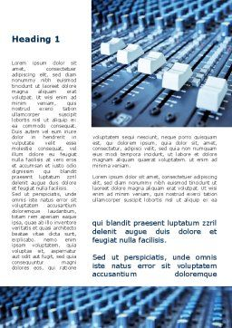 Audio Mixing Console Word Template First Inner Page