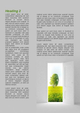 Door is Open Word Template, First Inner Page, 09156, Nature & Environment — PoweredTemplate.com