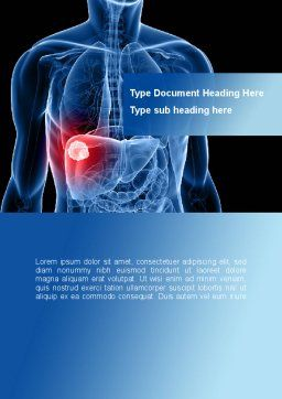 Liver Disease Word Template Cover Page