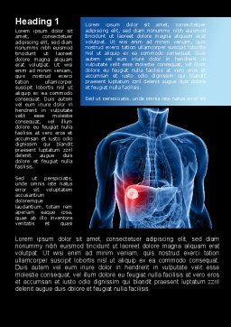 Liver Disease Word Template First Inner Page