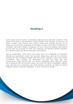 Reading Book in Early Childhood Word Template, Second Inner Page, 09173, People — PoweredTemplate.com