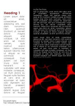 Arteries Carrying Blood Word Template, First Inner Page, 09211, Medical — PoweredTemplate.com