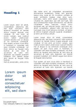 Bright Abstract Gear Word Template, First Inner Page, 09214, Careers/Industry — PoweredTemplate.com