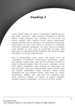 Linguistics Word Template Second Inner Page