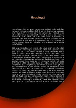 Artificial Brain Word Template, Second Inner Page, 09273, Consulting — PoweredTemplate.com