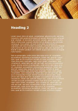 Binding Tools Word Template, Second Inner Page, 09277, Construction — PoweredTemplate.com