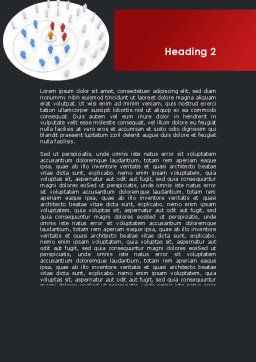 Virus Marketing Expansion Word Template, Second Inner Page, 09290, Consulting — PoweredTemplate.com