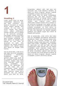 Weight Loss Help Word Template, First Inner Page, 09303, Sports — PoweredTemplate.com