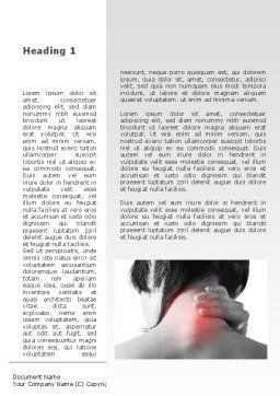 Neck And Spinal Disease Word Template First Inner Page