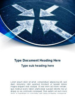 Goal Point Word Template, Cover Page, 09319, Consulting — PoweredTemplate.com