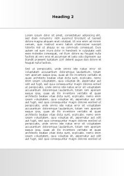 Diabetes Word Template, Second Inner Page, 09323, Medical — PoweredTemplate.com