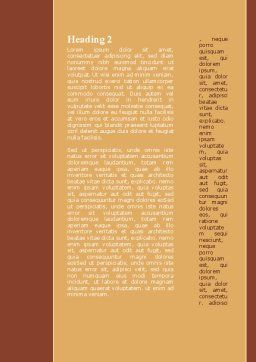 We the People Word Template, Second Inner Page, 09325, Legal — PoweredTemplate.com