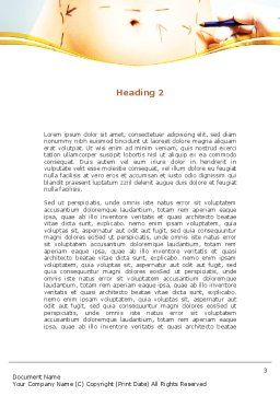 Liposuction Word Template, Second Inner Page, 09332, Medical — PoweredTemplate.com