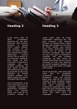 Briefing Meeting Word Template, Second Inner Page, 09342, Consulting — PoweredTemplate.com