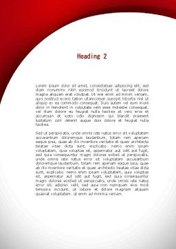 Gasoline Jerrycan Word Template Second Inner Page