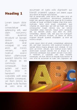 Letters For Education Word Template First Inner Page