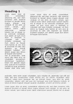 2012 Report Word Template, First Inner Page, 09435, Global — PoweredTemplate.com