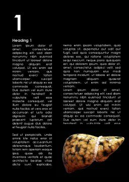 Nonalcoholic Fatty Liver Disease Word Template, First Inner Page, 09457, Medical — PoweredTemplate.com