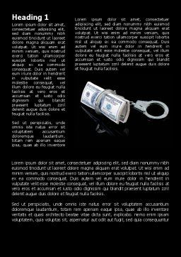 Arrested Criminal Money Word Template First Inner Page