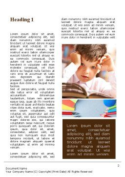 Elementary Education Word Template First Inner Page