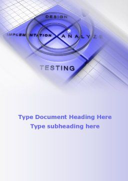 Spyral Model Word Template, Cover Page, 09478, Technology, Science & Computers — PoweredTemplate.com