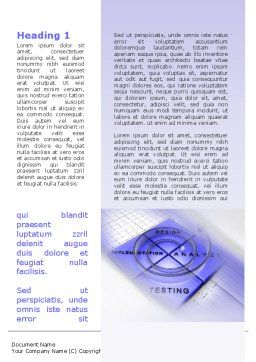 Spyral Model Word Template, First Inner Page, 09478, Technology, Science & Computers — PoweredTemplate.com