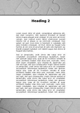 Key To Puzzle Word Template, Second Inner Page, 09497, Consulting — PoweredTemplate.com