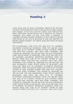 Question Marks Word Template, Second Inner Page, 09498, Consulting — PoweredTemplate.com