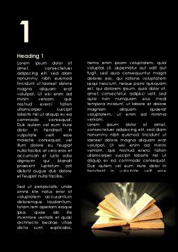 Scripture Word Template First Inner Page