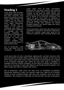 Car Design Process Word Template, First Inner Page, 09524, Cars/Transportation — PoweredTemplate.com