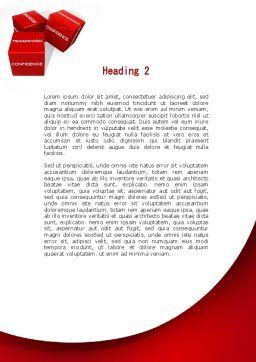 Successful Combination Word Template, Second Inner Page, 09532, Consulting — PoweredTemplate.com
