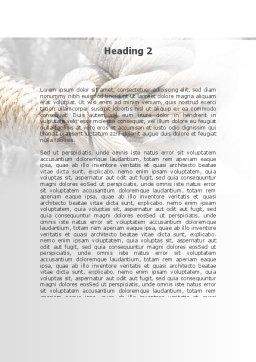 Fisherman's Bend Knot Word Template, Second Inner Page, 09534, Consulting — PoweredTemplate.com