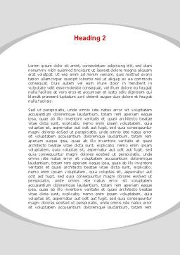 Make A Change Word Template, Second Inner Page, 09593, Consulting — PoweredTemplate.com