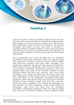 Medical Lamp Word Template, Second Inner Page, 09598, Medical — PoweredTemplate.com