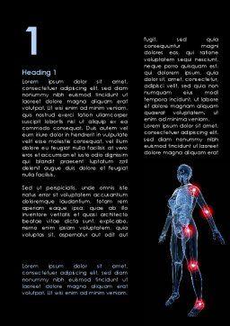 Arthronosos Word Template, First Inner Page, 09610, Medical — PoweredTemplate.com