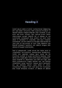 Arthronosos Word Template, Second Inner Page, 09610, Medical — PoweredTemplate.com